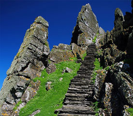 Skellig Island Star wars